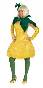 Faschingskostüm Lemon Kleid