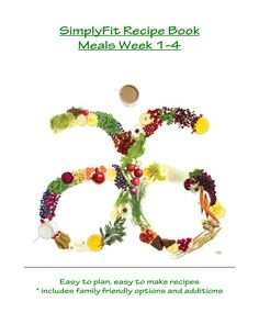30 day recipes to Healthy Living!