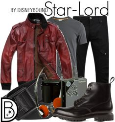 """Star - Lord / Male DisneyBound """"You know... StarLord."""""""