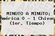 http://tecnoautos.com/wp-content/uploads/imagenes/tendencias/thumbs/minuto-a-minuto-america-0-1-chivas-1er-tiempo.jpg America Vs Chivas 2015. MINUTO A MINUTO: América 0 - 1 Chivas (1er. Tiempo), Enlaces, Imágenes, Videos y Tweets - http://tecnoautos.com/actualidad/america-vs-chivas-2015-minuto-a-minuto-america-0-1-chivas-1er-tiempo/