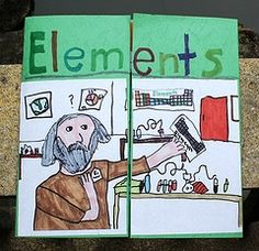 From our chemistry study of the elements and the periodic table of elements grade Chemistry Lapbook 6th Grade Science, Middle School Science, Elementary Science, Science Education, Teaching Science, Science Activities, Science Ideas, Health Education, Science Experiments