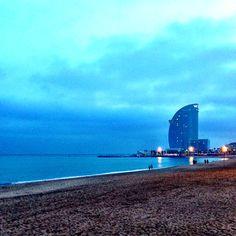 The sea of Barcelona