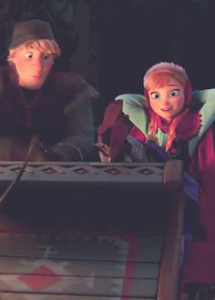 Frozen~Kristoff & Anna