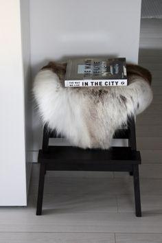 homevialaura   Reindeer hide   The way we live in the city #winter