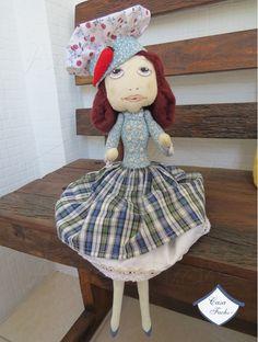 Uma boneca confeiteira!
