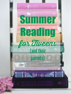 Here's a list of summer read-alouds for you and your tweens.  It's one of the best ways to make memories and stay connected with them as they change and grow! via lifeingrace