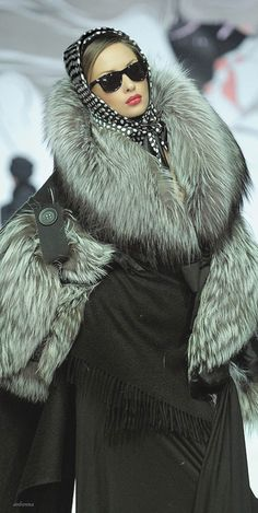 Igor Gulyaev is serving us the Most in her Fur Fashion!!!