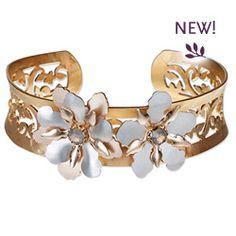Garden Romantica Cuff Bracelet- Holly Yashi