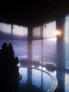 Gero hot spring, Gifu, Japan