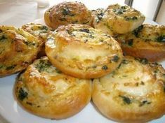 Baked Potato, Quiche, Biscuits, Muffin, Food And Drink, Pizza, Favorite Recipes, Bread, Snacks