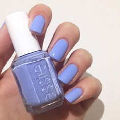 daring meets darling in pretty yet provocative essie 'bikini so teeny'. this sparkling nail polish bares it all with a wink and a smile and no strings attached -- the perfect summer color.
