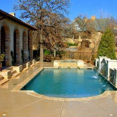 Backyard landscaping ideas swimming pool design read for Pool design 974
