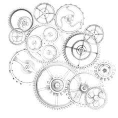 engrenage montre dessin - Recherche Google
