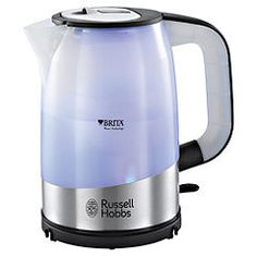 Buy Russell Hobbs 18554 Purity Brita Boil Capacity Hopper Kettle from Appliances Direct - the UK's leading online appliance specialist Specialty Appliances, Cooking Appliances, Brita Water Filter, Stainless Steel French Press, Kettle And Toaster, Russell Hobbs, House Essentials, Best Coffee Maker, Pallets