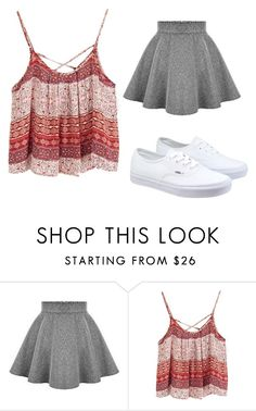"""""""date"""" by keelin-hollabaugh on Polyvore featuring Vans"""