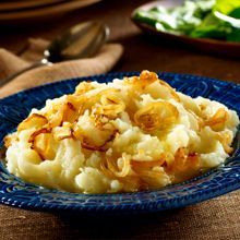 Olive Oil Mashed Potatoes are so Good! I make this once a week.