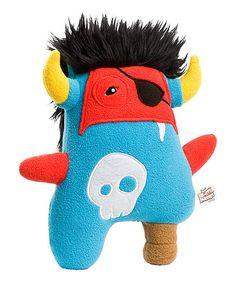Look what I found on #zulily! Beasty Buddies Blue Pirate Zorelag Monster Plush by Beasty Buddies #zulilyfinds