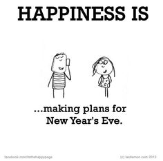 ...making plans for new year's eve