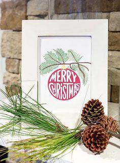 Free Christmas printable...