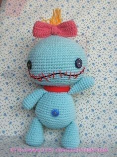SCRUMP 125 inches  PDF amigurumi crochet pattern by Chonticha, $7.00