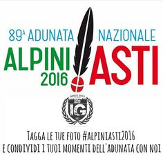In occasione dell'Adunata degli alpini di Asti  vi invitiamo a taggare i vostri scatti con il tag #alpiniasti2016 .  Le foto migliori saranno selezionate come foto del giorno  #alpiniasti2016 #alpini #asti #adunataalpini by ig_asti_
