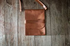 Beautiful handmade leather messenger bag made in Guatemala, $49 on etsy.