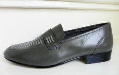 Aldo Bruè ongedragen instappers moccasins (1870) #vintage men's shoes