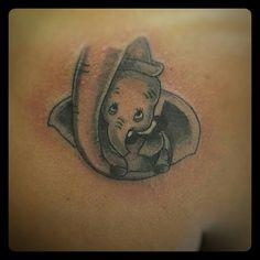 Walt Disney Dumbo tattoo