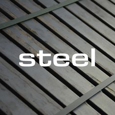 We're designing and manufacturing for Find out more about our trendy steel products. Street Furniture, Steel, Design, Products, Gadget, Iron