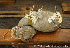 Wheaton Set B #juliodesigns #handmadejewelry #vintage