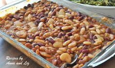 2 Sisters Recipes... by Anna and Liz: Drunken Baked Beans Casserole