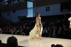 Design by Natalia Grzybowski as seen on the catwalk of the iD Dunedin 2012.
