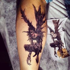 tattoos of ryuk from death note - Google Search