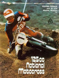 The first American Motocross idol, Marty Smith, comes in at Honda Dirt Bike, Honda Motorcycles, Motorcycles For Sale, Vintage Motocross, Vintage Racing, Vintage Bikes, Vintage Motorcycles, Motocross Riders, Motocross Action