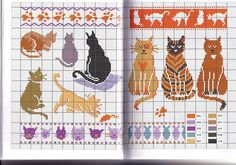 Gallery.ru / Фото #28 - Zoo - Orlanda Beading Tutorials, Beading Patterns, Don Fisher, Make Tutorial, Cat Mouse, Cat Whiskers, Cross Stitch Animals, Cat Crafts, Cat Pattern
