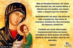 27 de Junho - Dia de Nossa Senhora do Perpétuo Socorro - =(^.^)=Rô Tricô e Crochê Mania=(^.^)=