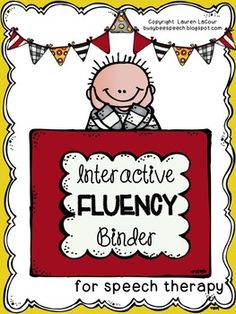 This huge binder is intended for students who have a fluency disorder or stuttering problems (it's for speaking fluency not reading fluency). It's a super fun and hands-on way for students to learn ways to cope with and better understand their stuttering.