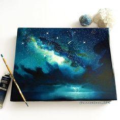 art, drawing, and sky imageの画像