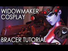 Overwatch: Widowmaker Cosplay Tutorial - Bracer - YouTube