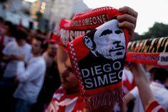 @AtléticoMadrid bufanda atlética del 'cholo' #9ine