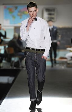 DSQUARED Mens Fall/Winter 2012  Look 30
