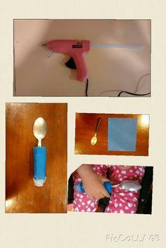 Engrosar el mango de la cuchara puede ser muy sencillo y mejorar el desempeño ocupacional en la actividad de alimentación.