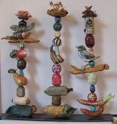 Ceramics 283: Ceramic Totem Poles