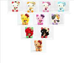 Hello Kitty Maneki Neko (Lucky Cat) Mascot 5 Inch Plush Doll