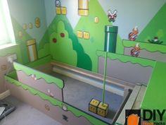 Casa Nerd: Quarto infantil Super Mario | Nerd Da Hora