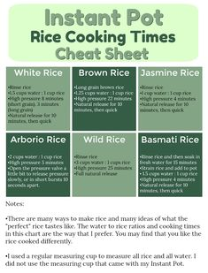 instant pot rice coo