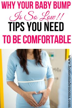 Carrying baby low during pregnancy and tips to make you more comfortable. Why are you carrying low and what does it mean for your pregnancy and baby. Pregnancy Back Pain, Third Pregnancy, Trimesters Of Pregnancy, Pregnancy Tips, Gestational Diabetes Pregnancy, Baby Registry Must Haves, Preparing For Baby, Third Trimester, Kids Behavior