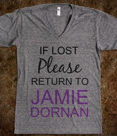 If Lost Please Return To Jamie Dornan