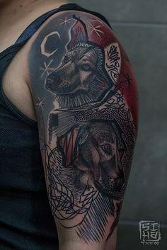 Trabajo, work, portfolio tatuadora tattooer Tayri Rodriguez de Siha Tattoo, estudio de Tatuajes de Barcelona
