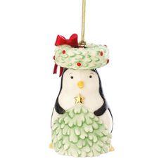 Lenox Festive Friends Penguin Ornament. #Lenox #Statue #Sculpture #Figurine #Decor #Gift #gosstudio .★ We recommend Gift Shop: http://www.zazzle.com/vintagestylestudio ★